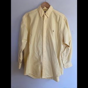 Ralph Lauren Classic Fit Faded or Pastel Yellow